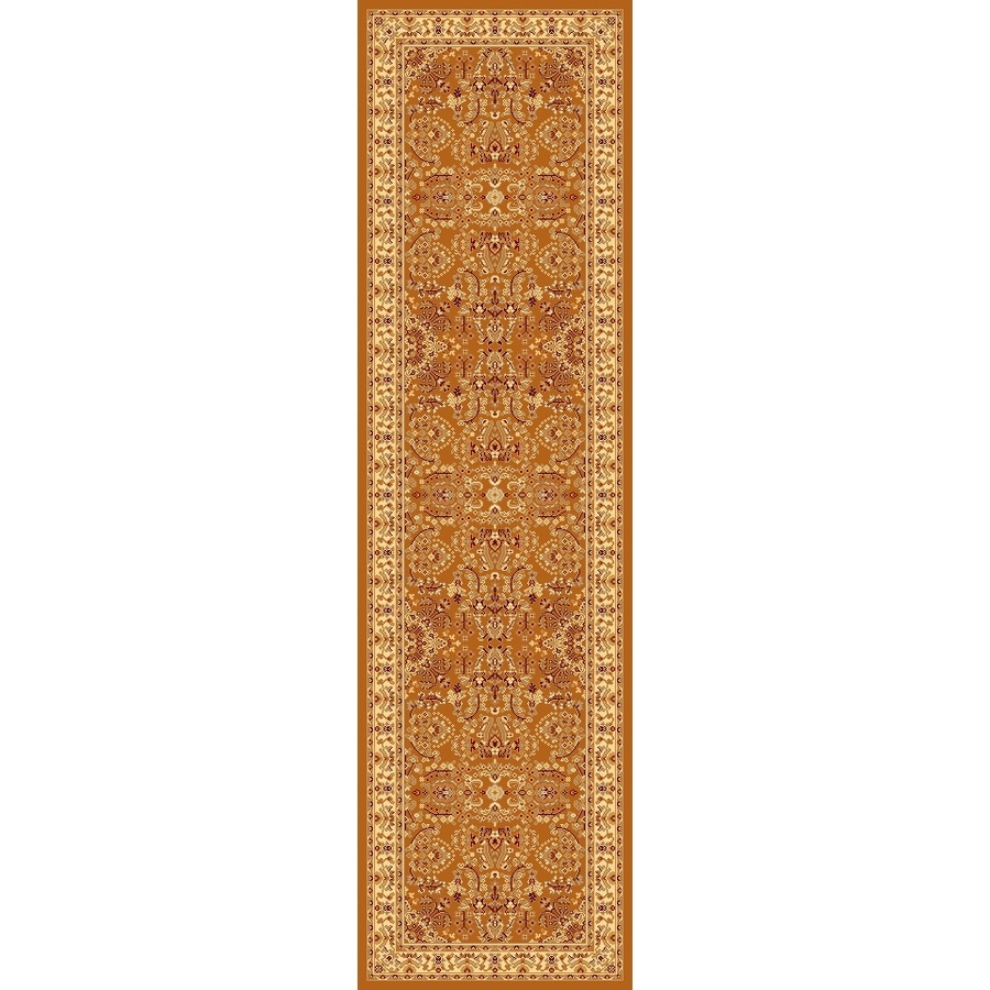 Rugs America New Vision Red Woven Runner (Common: 2-ft x 8-ft; Actual: 2.25-ft x 7.833-ft)