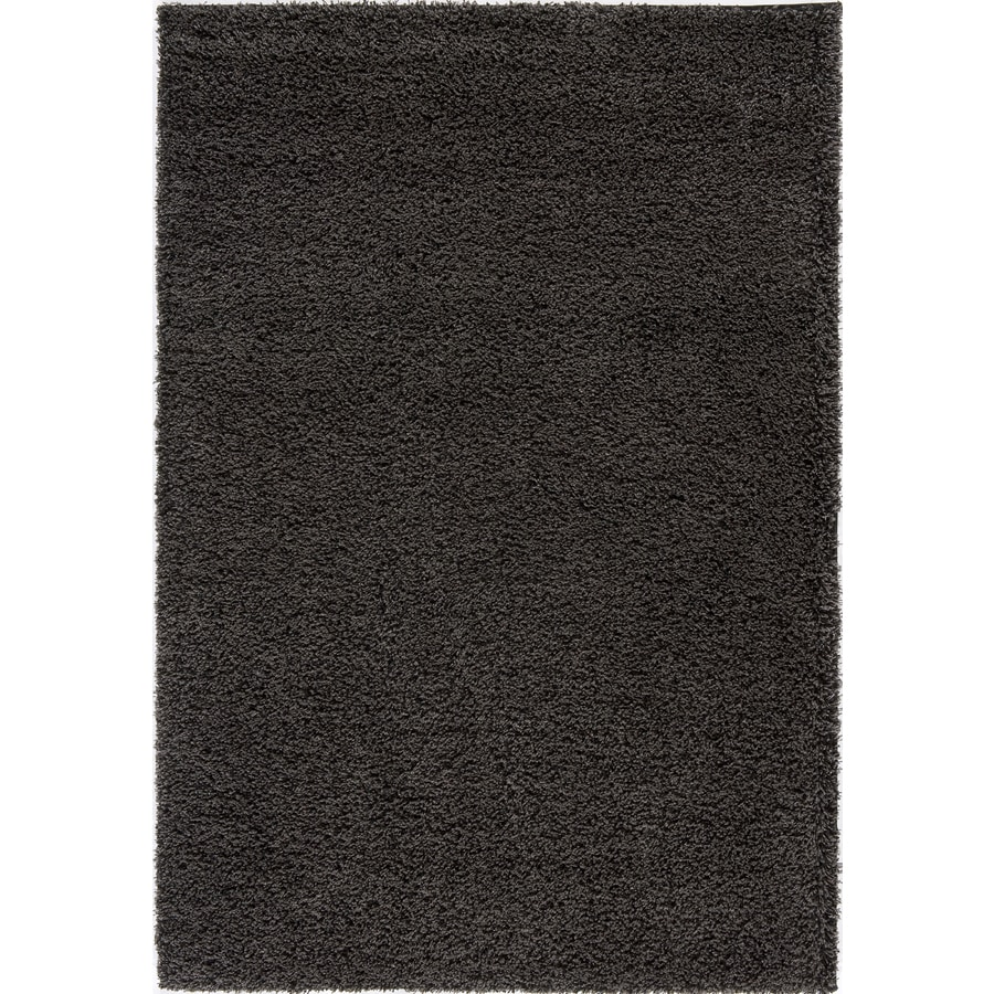 Rugs America Vero Beach Charcoal Rectangular Indoor Woven Area Rug (Common: 5 x 8; Actual: 63-in W x 90-in L)