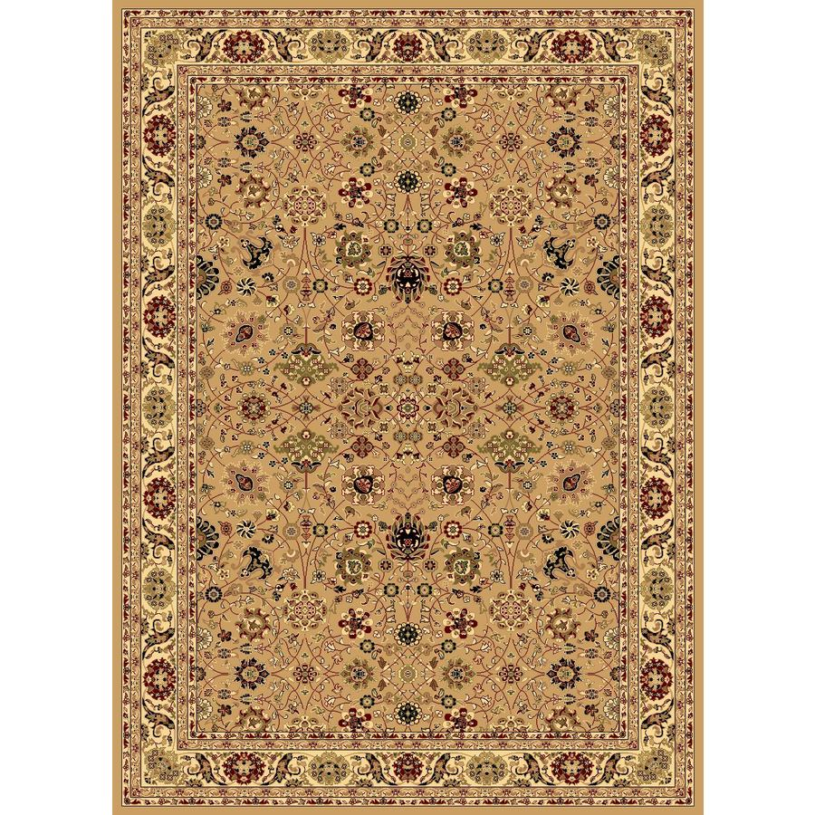 Rugs America New Vision Tabriz Berber Rectangular Indoor Woven Throw Rug (Common: 2 x 3; Actual: 24-in W x 35-in L)