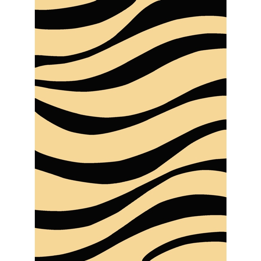 Rugs America Torino Rectangular Black Transitional Woven Accent Rug (Common: 2-ft x 3-ft; Actual: 24-in x 35-in)