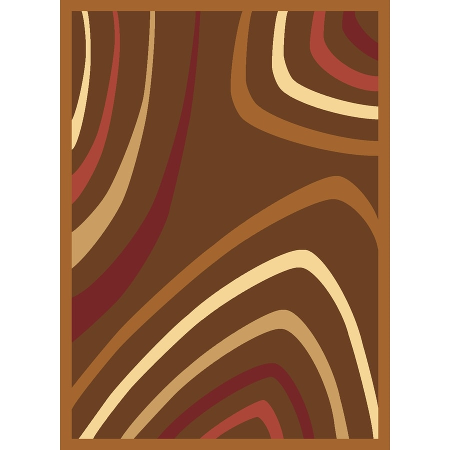 Rugs America Torino 7-ft 10-in x 10-ft 10-in Rectangular Tan Transitional Area Rug