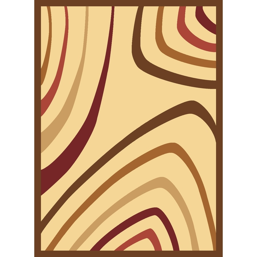 Rugs America Torino 7-ft 10-in x 10-ft 10-in Rectangular Beige Transitional Area Rug