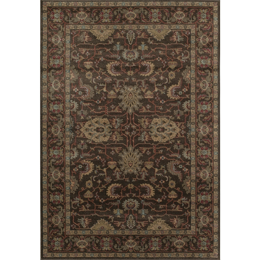 Shop Rugs America Ziegler Brown Indoor Area Rug Common