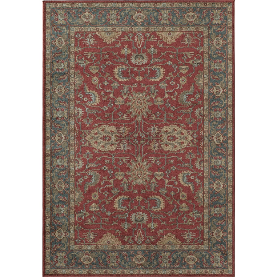 Shop Rugs America Ziegler Crimson Rectangular Indoor Woven