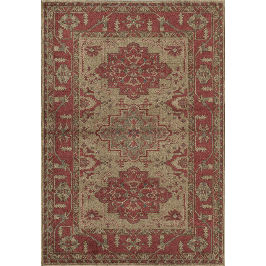 Rugs America Ziegler Cherry Indoor Area Rug Common 5 X 8