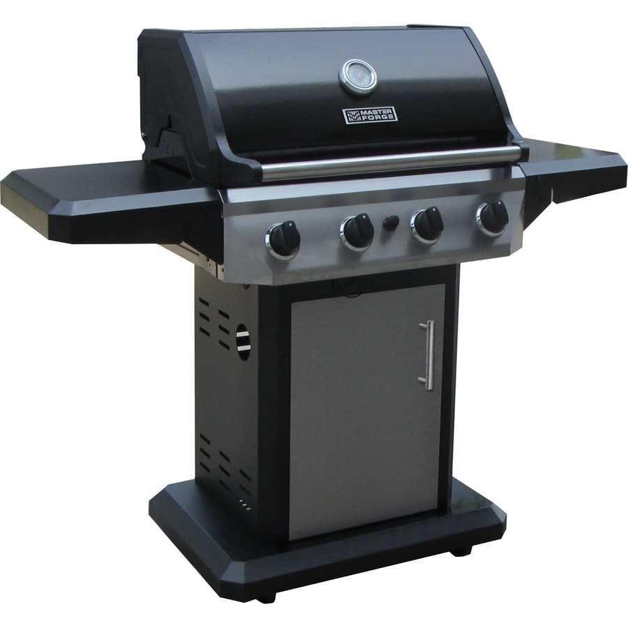 surprising Master Forge Grill Company Part - 13: Master Forge 4-Burner (48,000-BTU) Liquid Propane Gas Grill