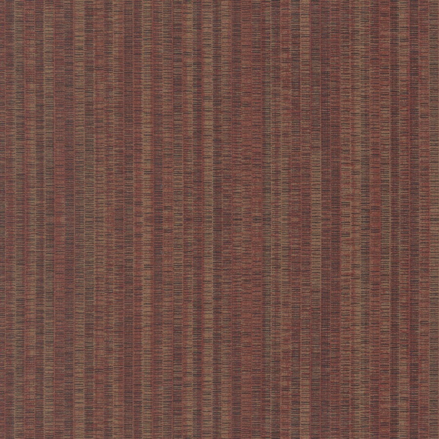 Allen Roth Red Fabric Backed Vinyl Unpasted Textured Wallpaper