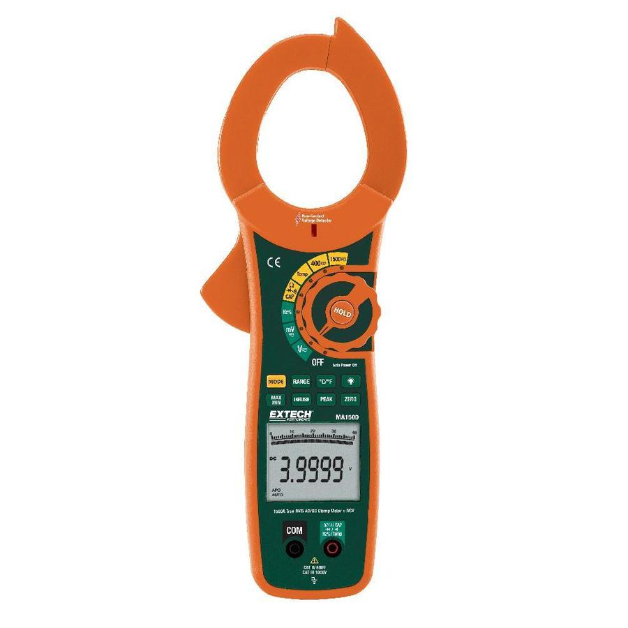 Extech Digital Clamp Meter : Shop extech digital up to volt clamp meter at lowes