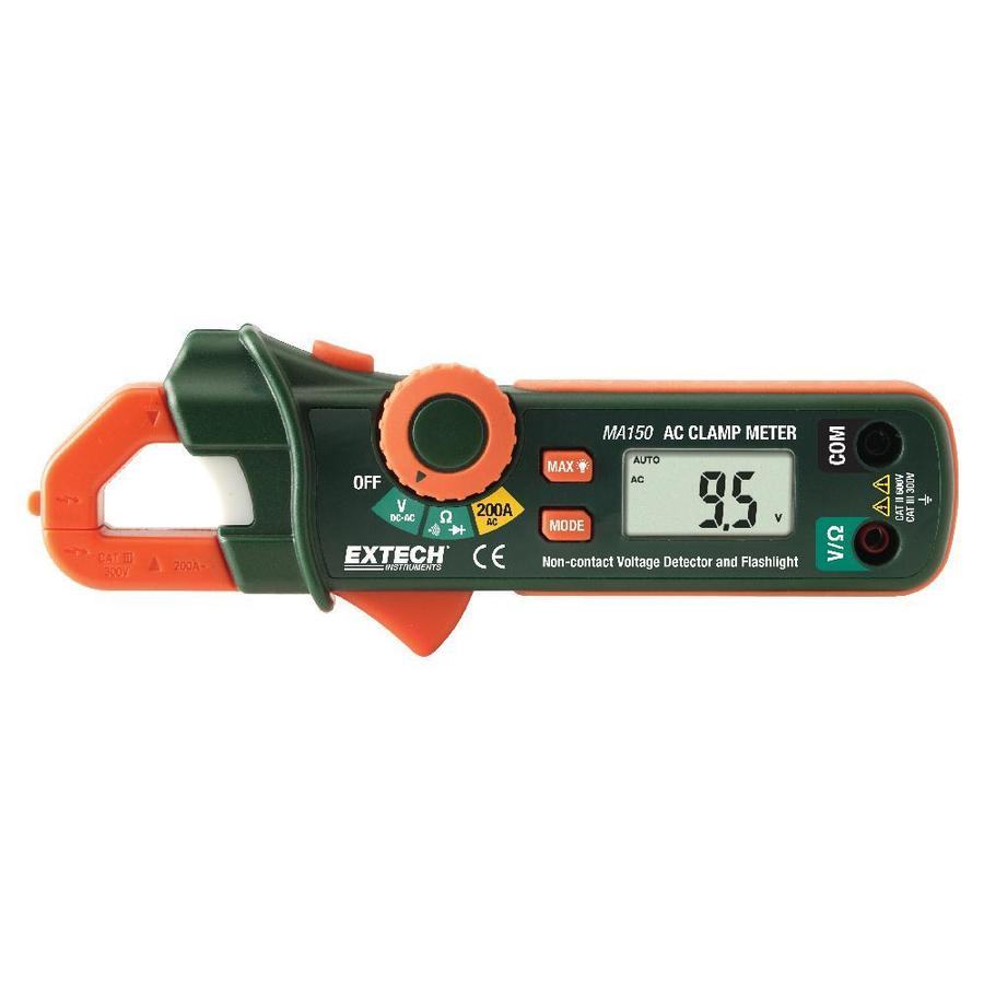 Extech Digital Clamp Meter : Shop extech digital volt clamp meter at lowes
