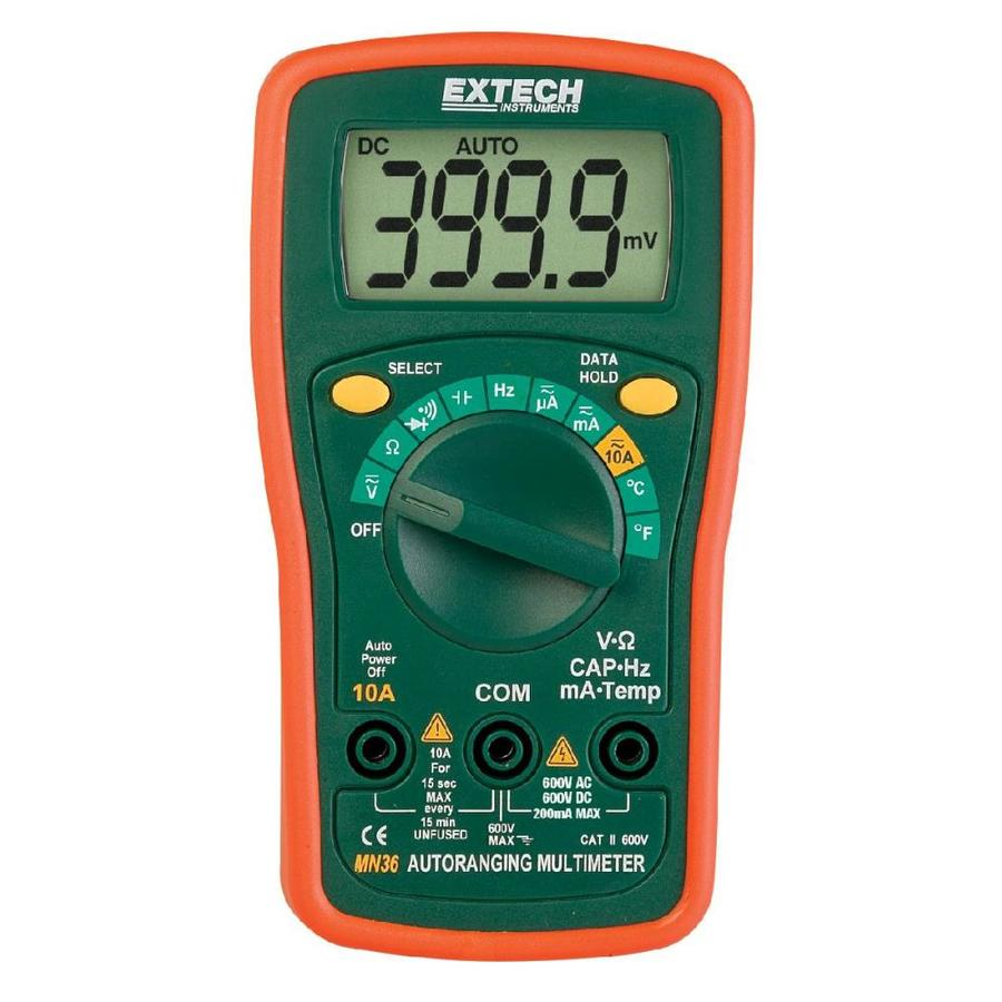 Extech Digital Up to 600-Volt Multimeter