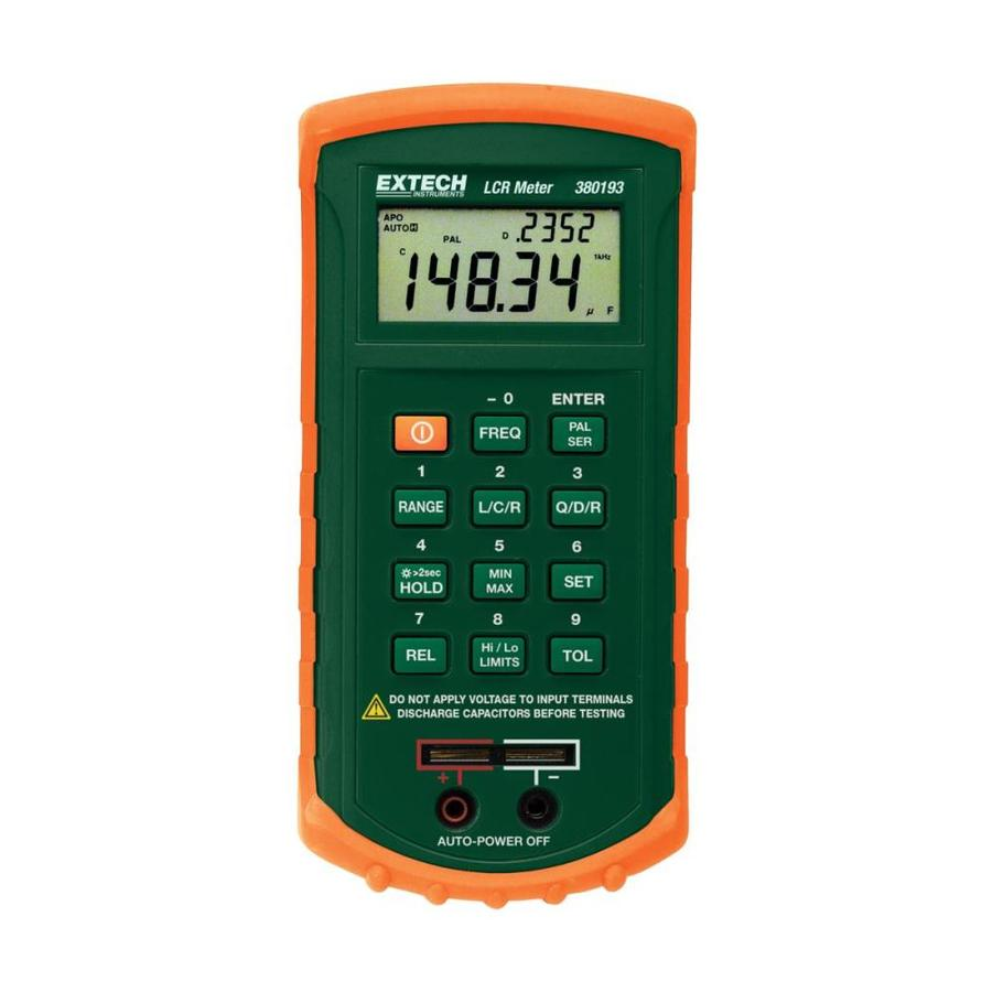 Secondary Electric Meter : Shop extech digital test set at lowes