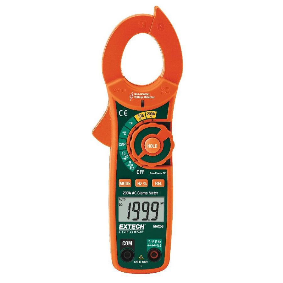 Extech Digital Up to 600-Volt Clamp Meter