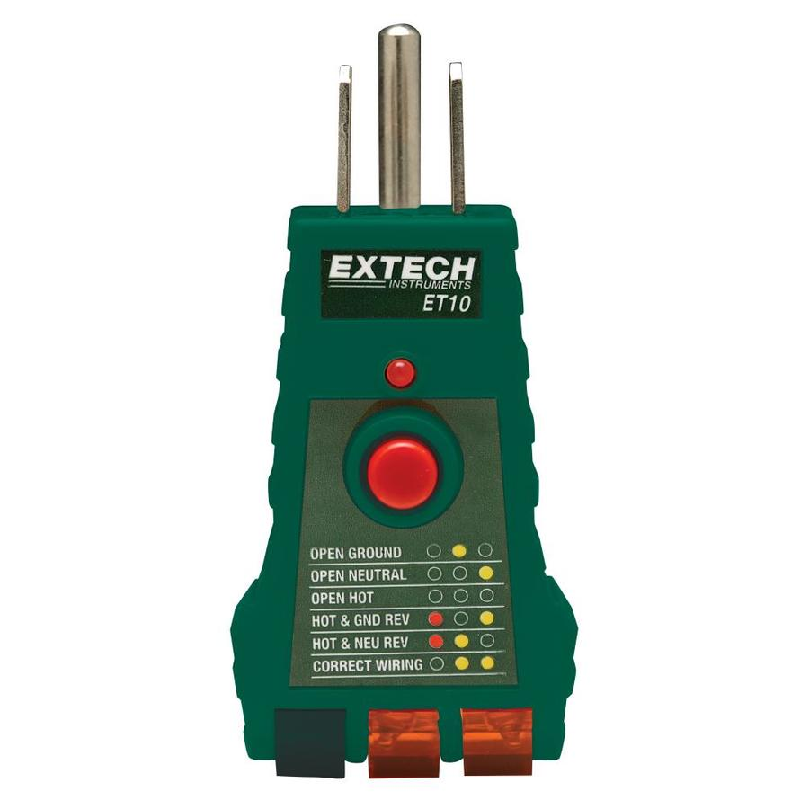 Circuit Tester Lowe S : Shop extech digital wire tracer at lowes