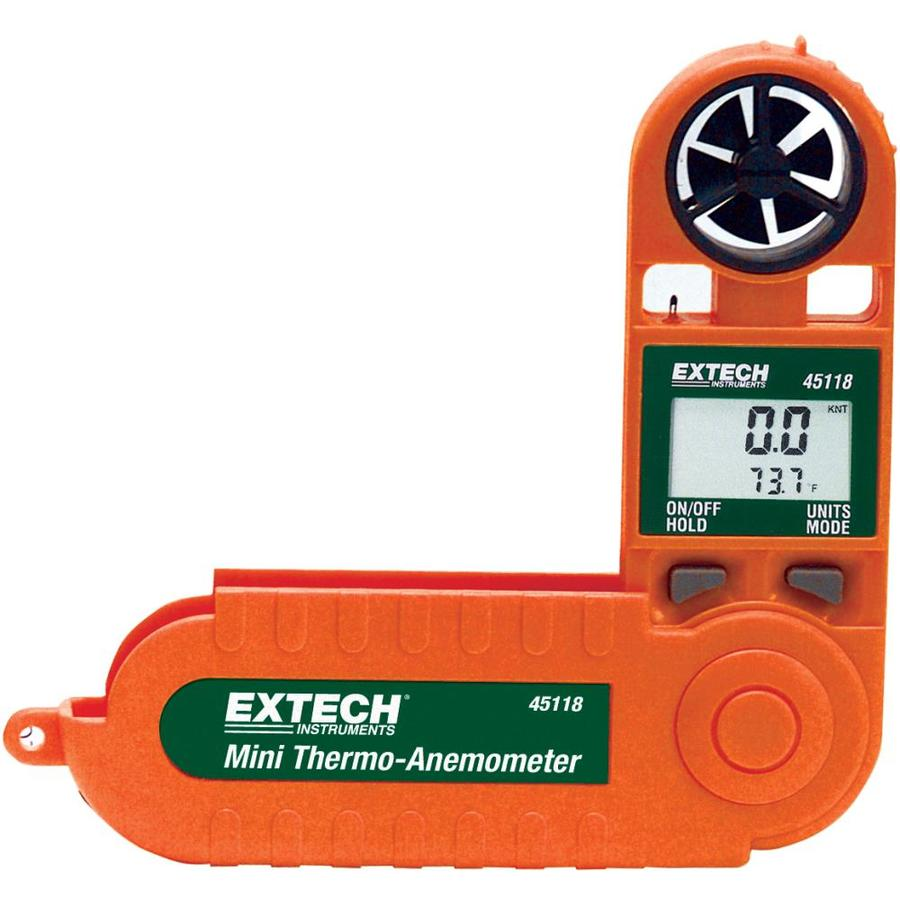 Extech Digital Temperature-Anemometer Meter