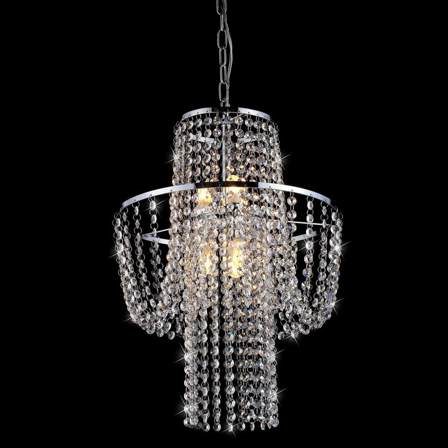 Chandelier Lighting Accessories: Home Accessories Inc Charlotte 6-Light Chrome Traditional