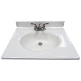 Cultured Marble Bathroom Vanity Tops At Lowes Com