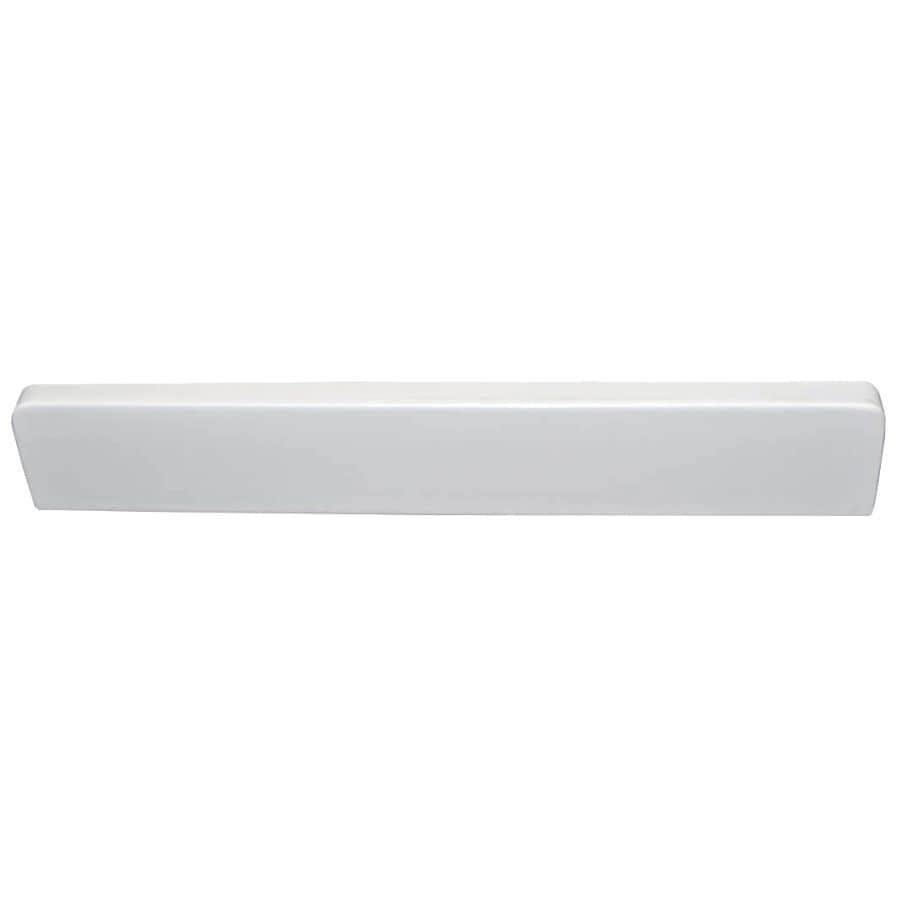 US Marble Ambassador 418.25-in L White on White Bathroom Side Splash