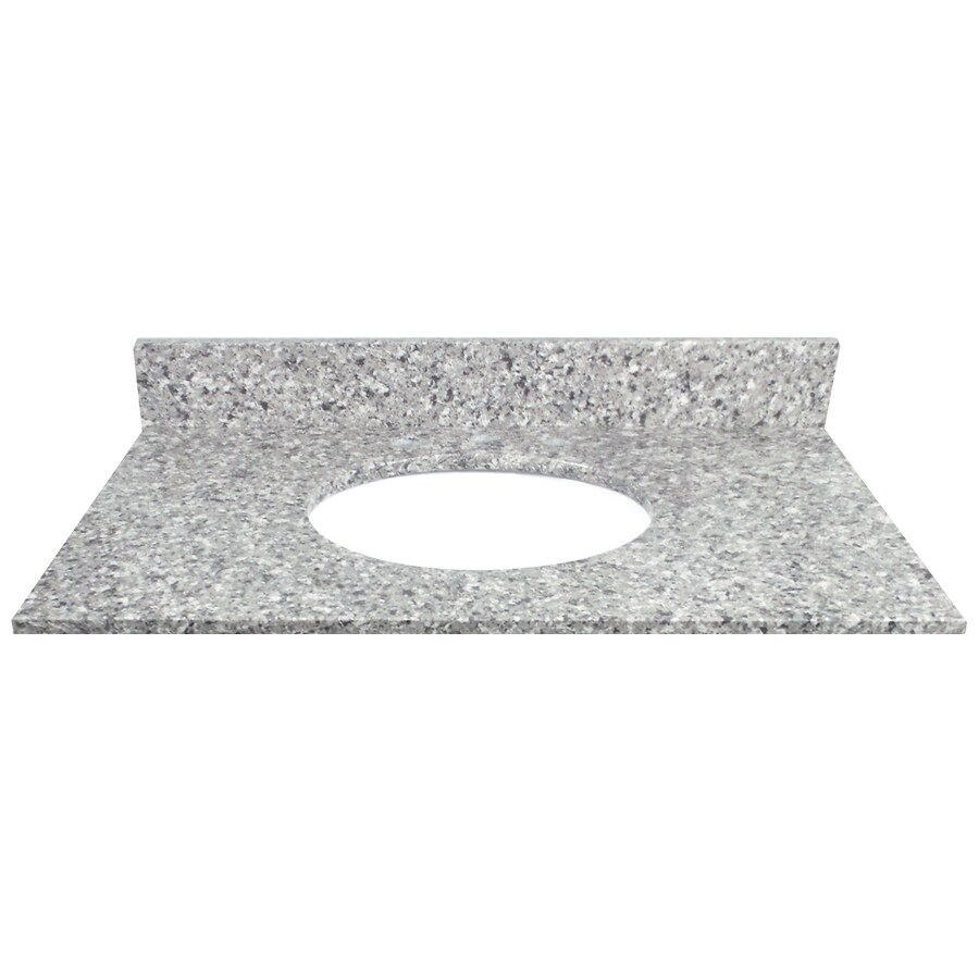 US Marble Copenhagen Quartz Undermount Single Sink Bathroom Vanity Top (Common: 37-in x 22-in; Actual: 37-in x 22.25-in)
