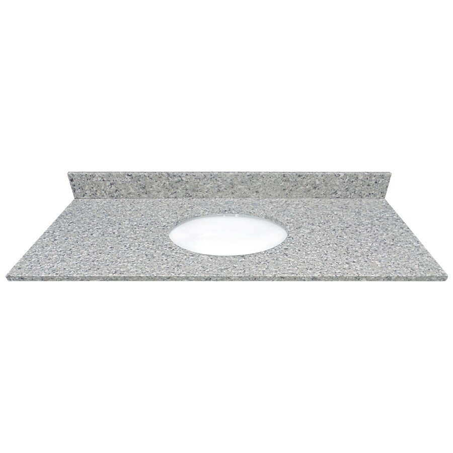 US Marble Copenhagen Quartz Undermount Bathroom Vanity Top (Common: 49-in x 22-in; Actual: 49-in x 22.25-in)
