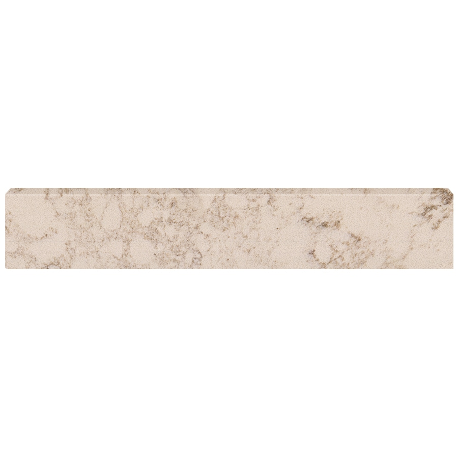 US Marble 4-in H x 20.75-in L Giallo Beige Bathroom Side Splash