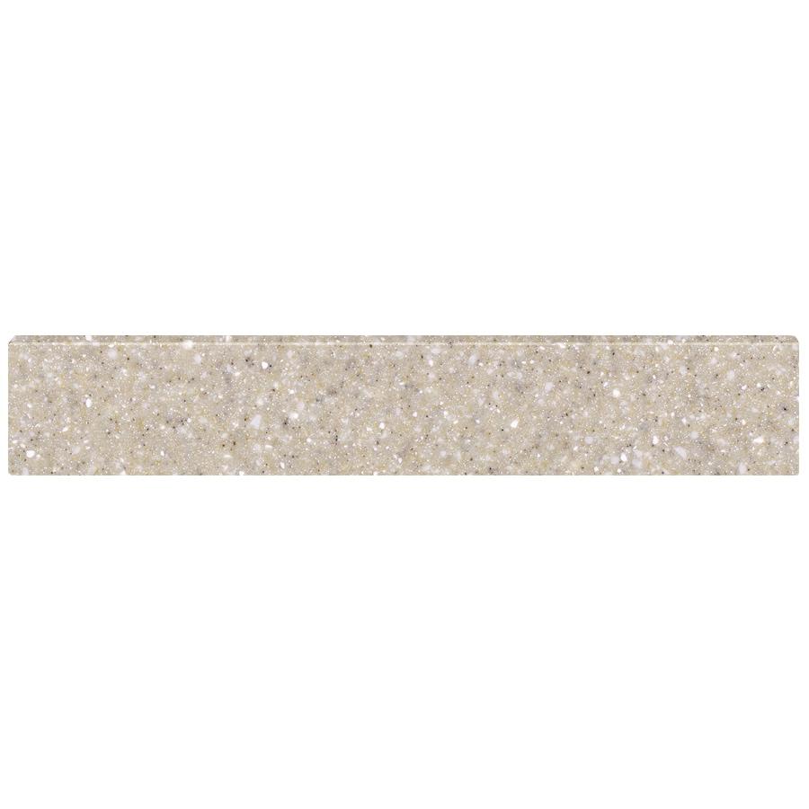 US Marble 4-in H x 21.25-in L Wheat Bathroom Side Splash