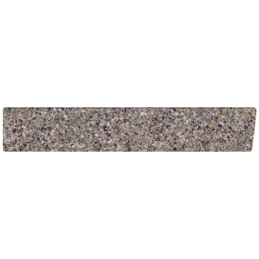 US Marble 4-in H x 21.25-in L Pebble Bathroom Side Splash
