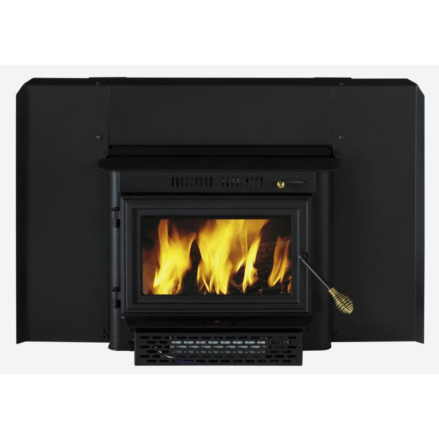 shop summers heat 1500 sq ft wood burning stove insert at lowes com