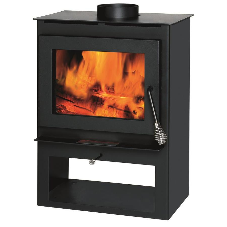 shop wood stoves wood furnaces at lowes com rh lowes com Lowe's Fireplace Inserts with Blower Wood-Burning Fireplace Design