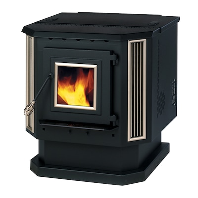 2,200-sq ft Pellet Stove on