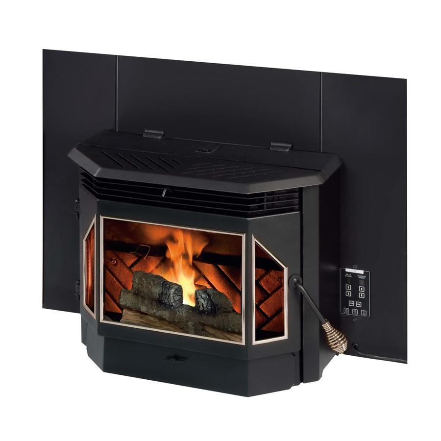 shop summers heat 2 000 sq ft pellet stove insert at lowes com