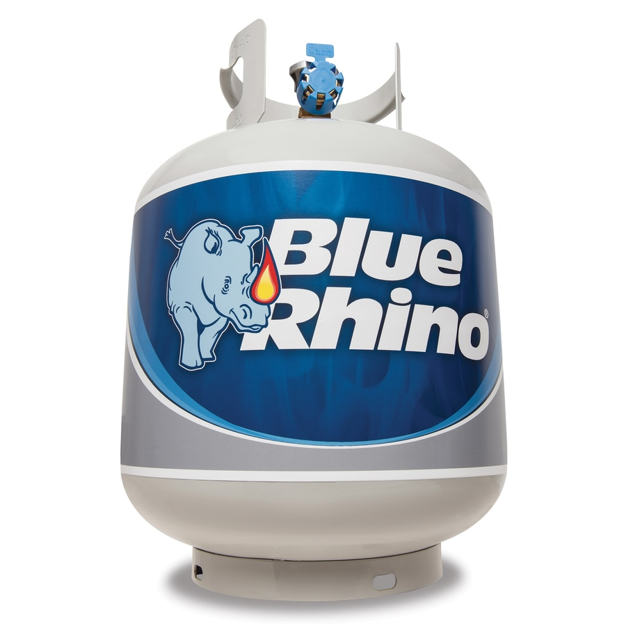 Shop Blue Rhino 15-lb Pre-Filled Propane Tank Refill at Lowes.com