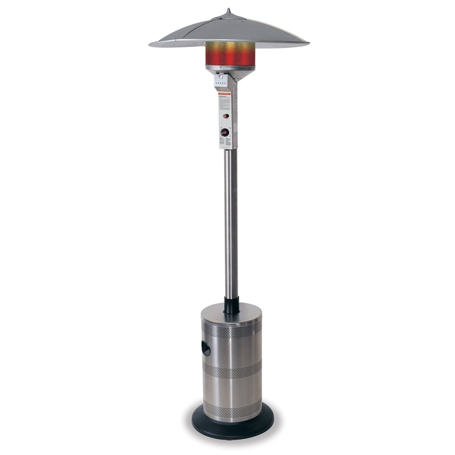 endless summer 40000 btu stainless steel liquid propane patio heater - Patio Heater Lowes