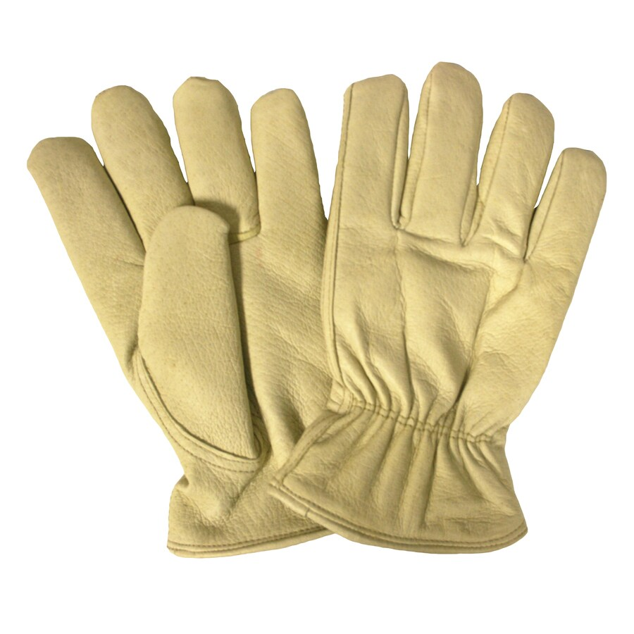 Cordova Consumer Products Large Male Creme Leather Insulated Winter Gloves
