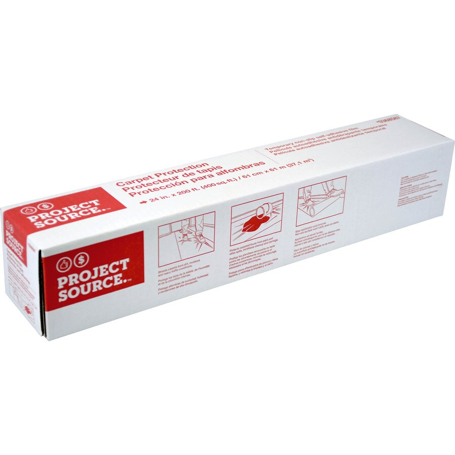 Project Source 24-in x 2400-in Carpet Film Roll