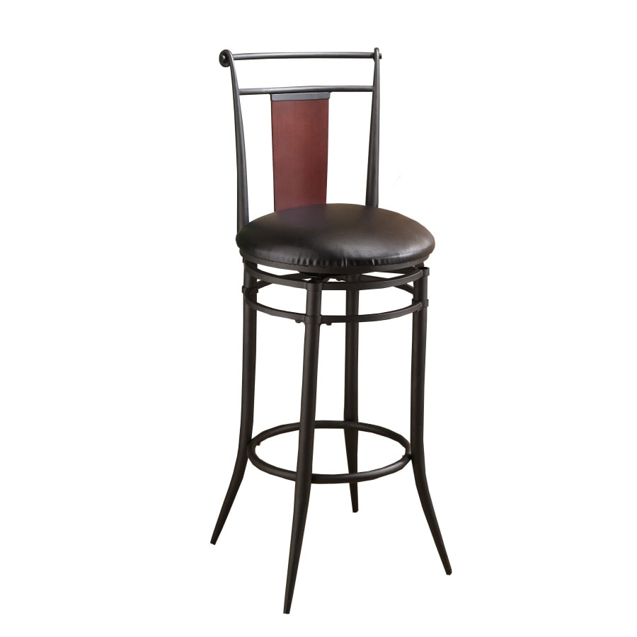 Hillsdale Furniture Mid-Town Modern Black Counter Stool