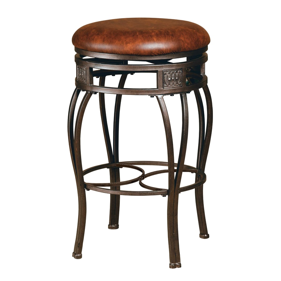 Hillsdale Furniture Montello Old Steel 26-in Counter Stool