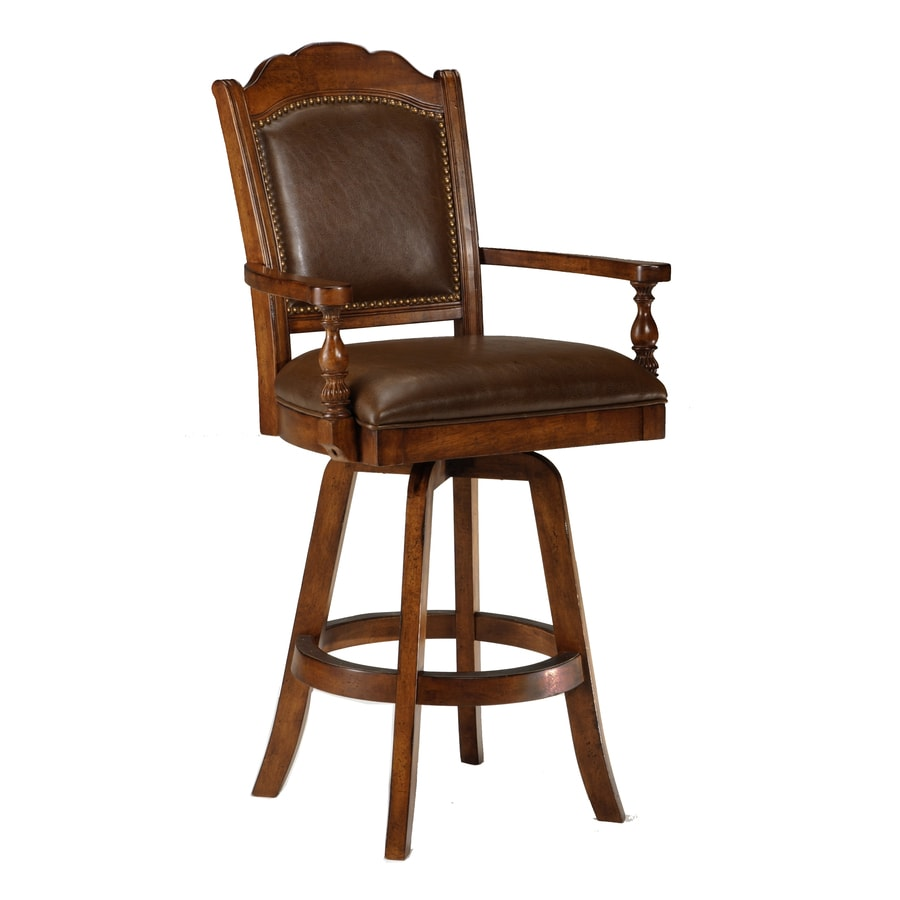 Hillsdale Furniture Nassau Casual Brown Bar Stool