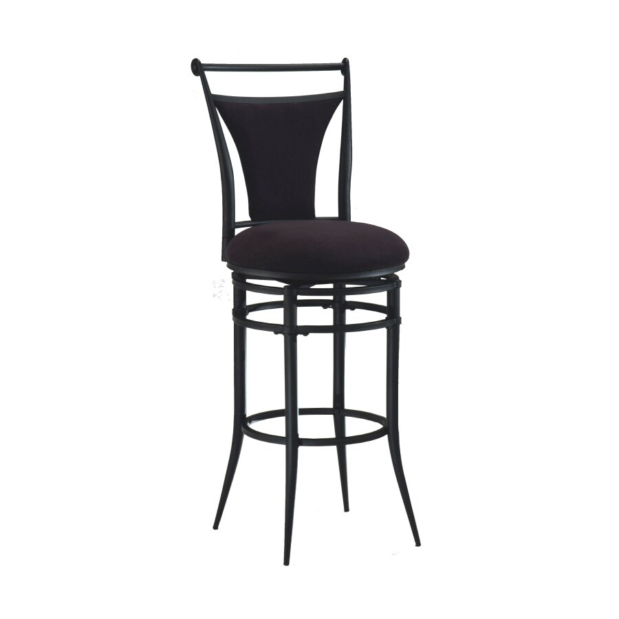 Hillsdale Furniture Cierra Modern Black Bar Stool