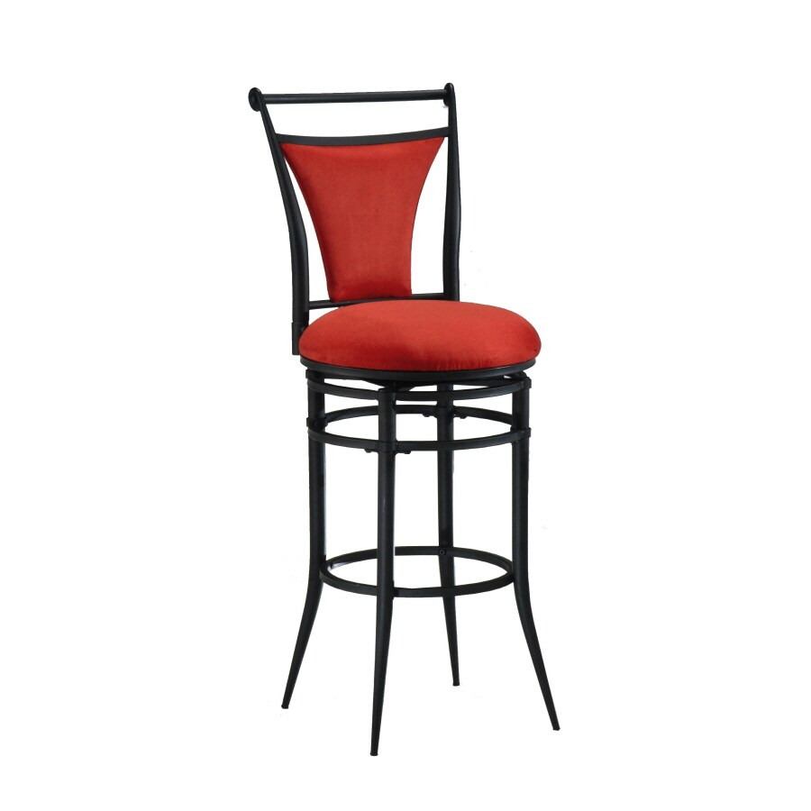 Shop Hillsdale Furniture Cierra Modern Black Bar Stool At