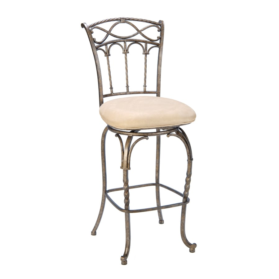 Hillsdale Furniture Kendall Modern Pewter and Antique Bronze HighLighting Counter Stool