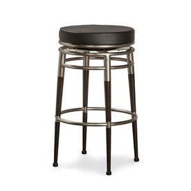 Remarkable Silver Modern Bar Stools At Lowes Com Machost Co Dining Chair Design Ideas Machostcouk
