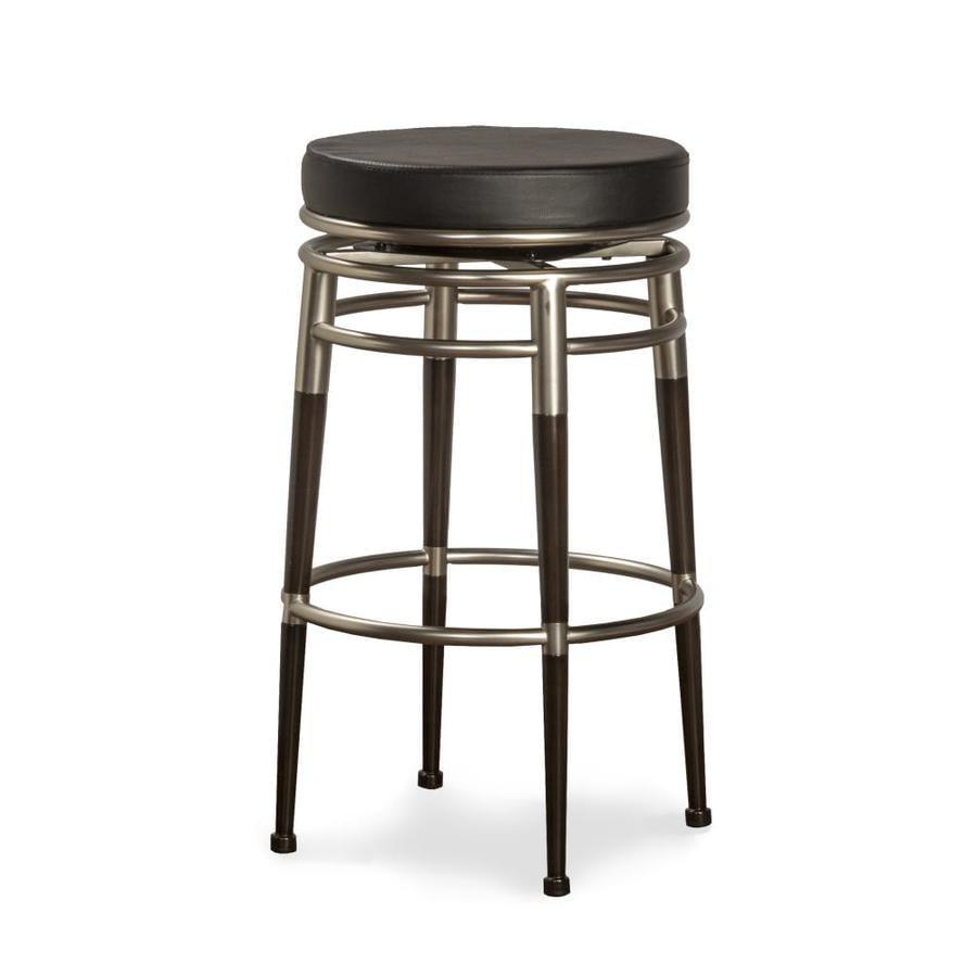 Shop Hillsdale Furniture Salem Modern Brushed Chrome Bar Stool At