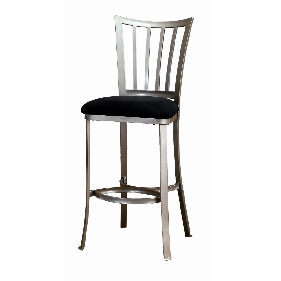 Hillsdale Furniture Delray Modern Mission Pewter Counter Stool