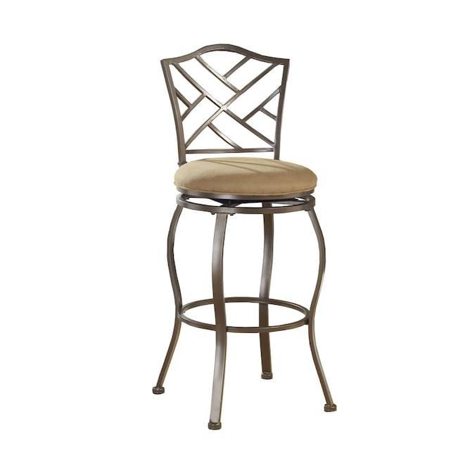 Hillsdale Furniture Hanover Brown Powder Coat Counter ...