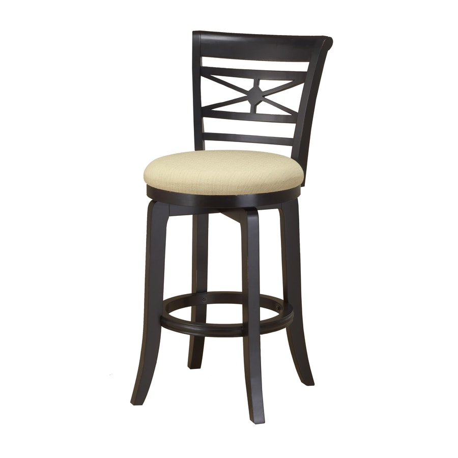 "Hillsdale Furniture 43"" Kingstown Black Bar Stool"
