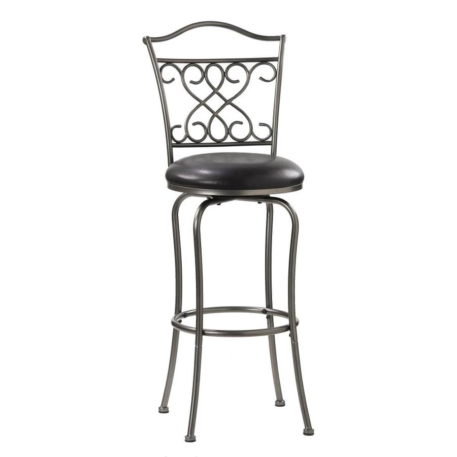 Hillsdale Furniture Wayland Casual Pewter Bar Stool