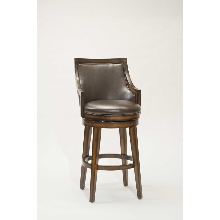 Hillsdale Furniture Lyman Modern Rustic Oak Bar Stool