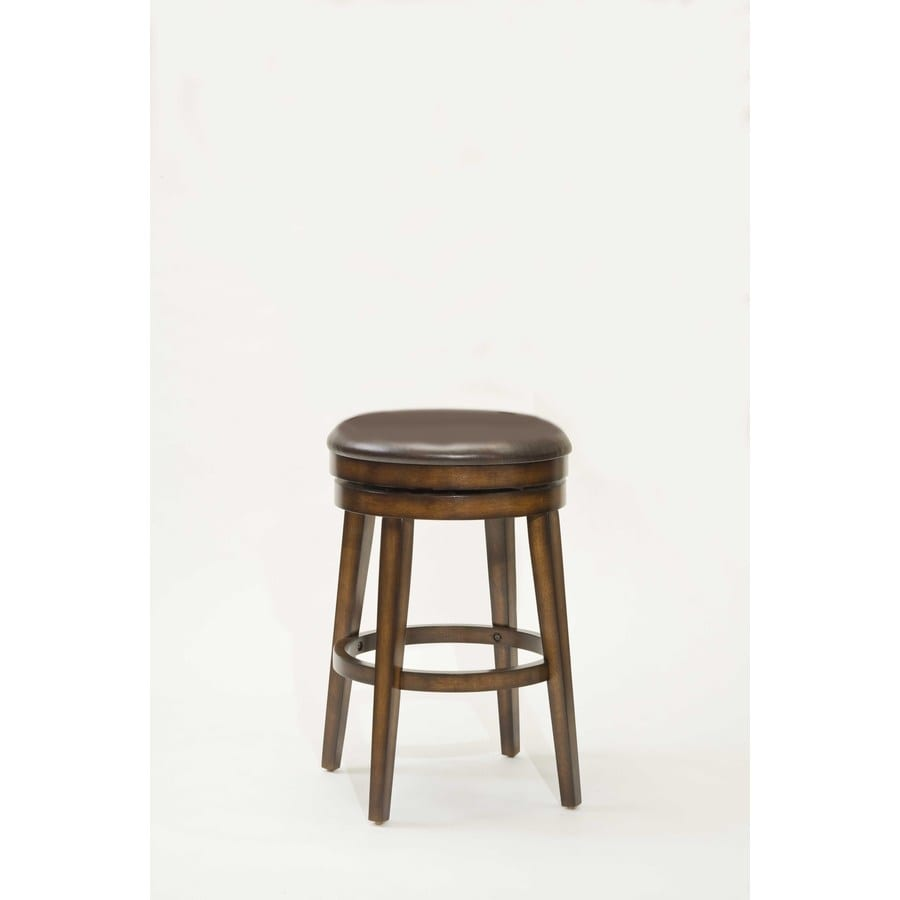 Hillsdale Furniture Beechland Rustic Oak 26.5-in Bar Stool