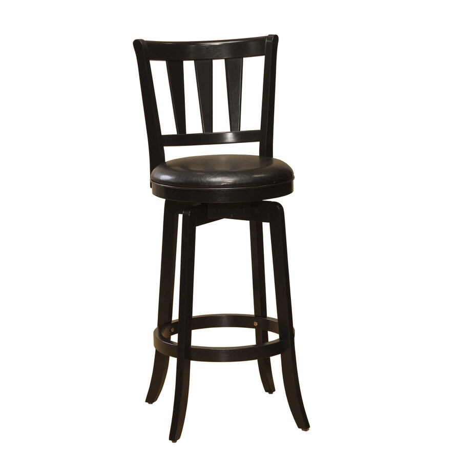 Hillsdale Furniture Presque Isle Black 29.5-in Bar Stool
