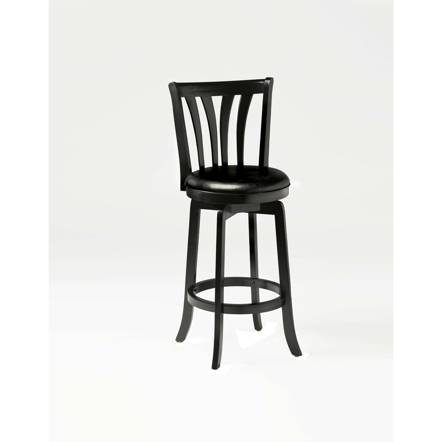 Hillsdale Furniture Savana Black 25.5-in Counter Stool